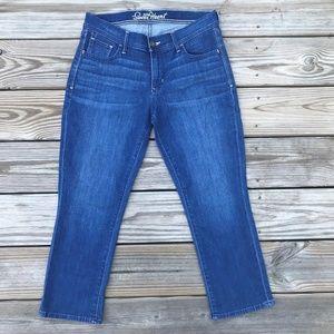 Old Navy Women Denim Jeans Blue Sweet Heart Size 4